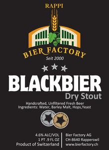 Rappi Bier Factory Blackbier June 2013