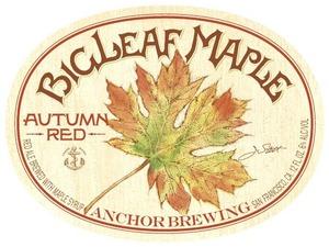 Anchor Brewing Big Leaf Maple Autumn Red
