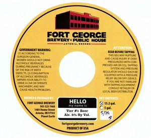 Fort George Brewery Tier #1