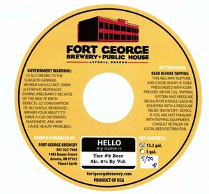 Fort George Brewery Tier #2
