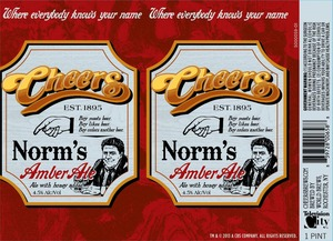 Cheers Norm's Amber