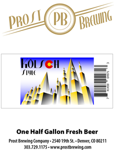 Prost Brewing Company Kolsch