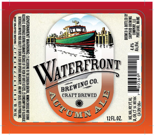 Waterfront Brewing Co. Autumn