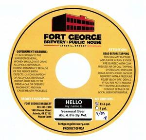 Fort George Brewery Seasonal