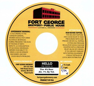 Fort George Brewery Tier #3