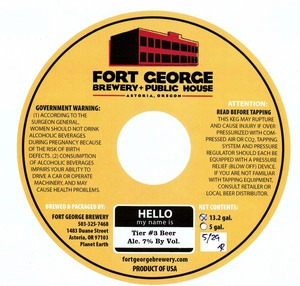 Fort George Brewery Tire # 3