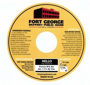 Fort George Brewery Vortex IPA