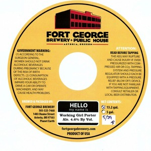 Fort George Brewery Working Girl