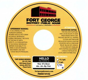 Fort George Brewery Tier #4