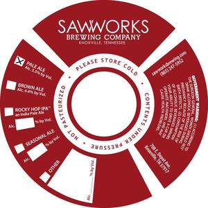 Saw Works Brewing Company Pale Ale