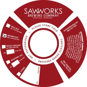 Saw Works Brewing Company Brown Ale