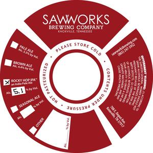 Saw Works Brewing Company Rocky Hop India Pale Ale
