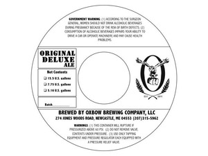 Oxbow Brewing Company Original Deluxe