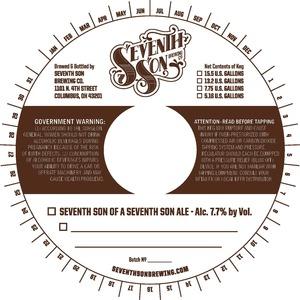 Seventh Son Of A Seventh Son Ale