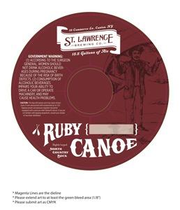 St. Lawrence Brewing Co Ruby Canoe