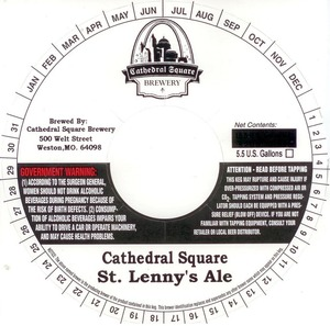 Cathedral Square Brewery St. Lenny's Ale