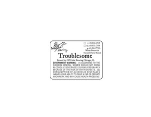 Off Color Brewing Troublesome