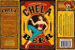 Aztec Brewing Company Chela Beer