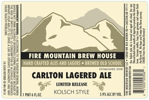 Carlton Lagered Ale