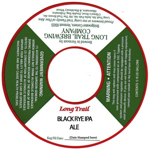 Long Trail Black Rye IPA