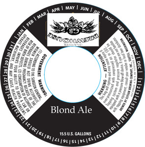Glacier Brewhouse Blonde