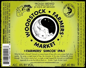 Rock Art Brewery Farmers Simcoe IPA