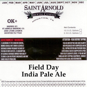 Saint Arnold Brewing Company Field Day