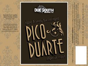 Due South Brewing Co Apple Brandy Barrel Pico Duarte
