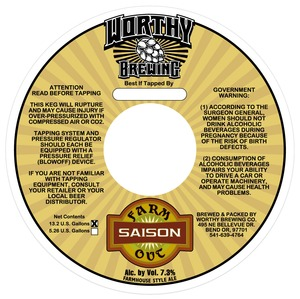 Worthy Farm Out Saison