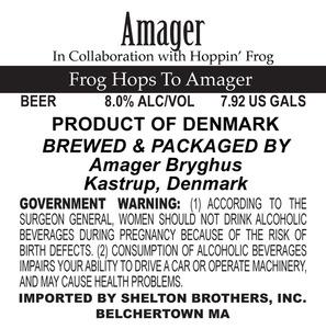 Amagar Bryghus Frog Hops To Amagar