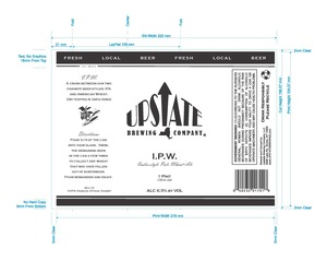 Upstate Brewing Company Ipw