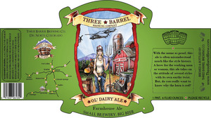 Three Barrel Brewing Company Ol' Dairy Ale