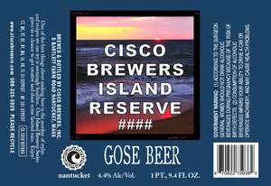 Cisco Brewers Gose