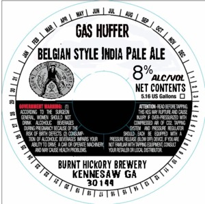 Burnt Hickory Brewery Gas Huffer