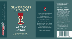 Grassroots Brewing Arctic Saison