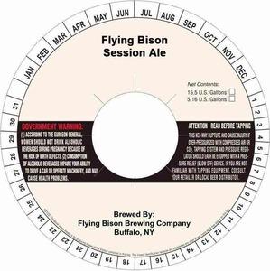 Flying Bison Session Ale
