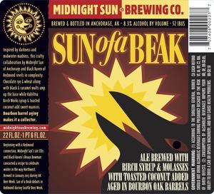 Midnight Sun Brewing Company Sun Of A Beak June 2013