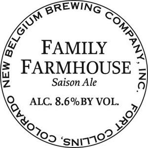 New Belgium Brewing Company Family Farmhouse