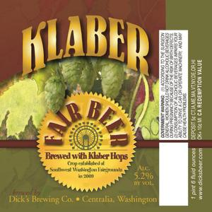 Dick's Brewing Company Klaber Fair