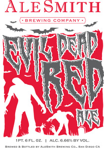 Alesmith Evil Dead Red Ale