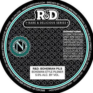 Ninkasi Brewing Company R&d: Bohemian Pils