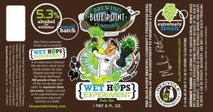 Blue Point Wet Hops Experiment Pale June 2013