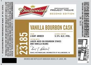 Budweiser Brewmasters' Project Twelve Vanilla Bourbon Cask 23185