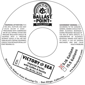 Ballast Point Brewing Company Victory At Sea