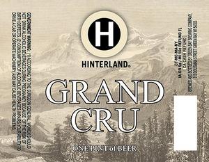 Hinterland Grand Cru