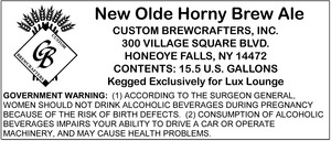 New Olde Horny Brew