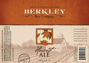 Berkley Beer Company Harvest Ale