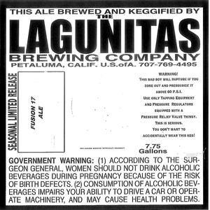 The Lagunitas Brewing Company Fusion 17
