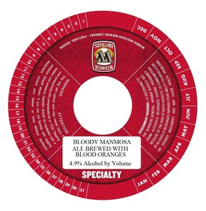 Widmer Brothers Brewing Company Bloody Manmosa June 2013