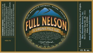 Blue Mountain Brewery Full Nelson